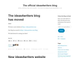 ideas4writers.wordpress.com