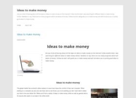Ideastomakemoneyinfo.wordpress.com