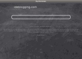 ideblogging.com