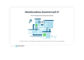 ideedecadeau.boostercash.fr