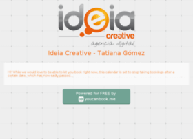 ideiacreative.youcanbook.me