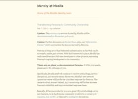 identity.mozilla.com