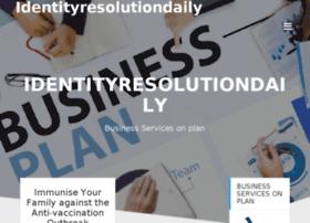 identityresolutiondaily.com