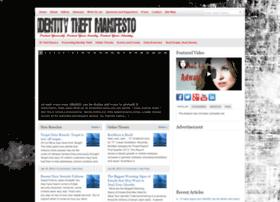 identitytheftmanifesto.com