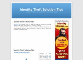 identitytheftsolutiontips.com