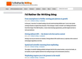 idratherbewriting.com