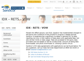 idx.sandicor.com