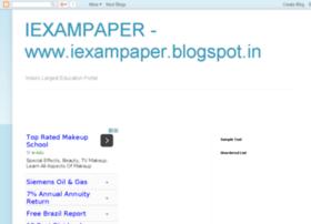iexampaper.blogspot.in