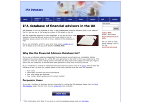 ifa-database.co.uk