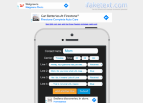 ifaketext.com
