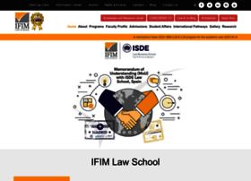 ifimlawcollege.com