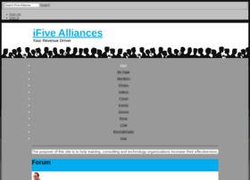ifivealliances.ning.com