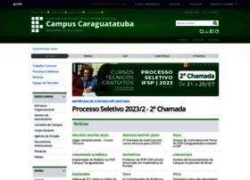 ifspcaraguatatuba.edu.br