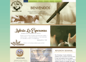 iglesialaesperanza.org