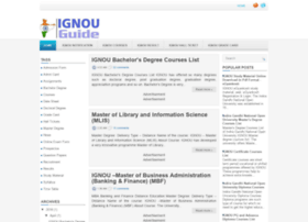 ignou-guide.in