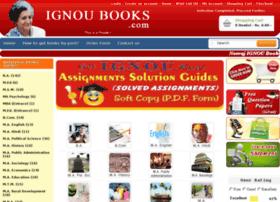ignoubooks.com