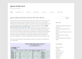 ignougradecard.co.in