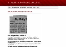 ihatemalls.webs.com