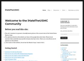 ihatetheusmc.com