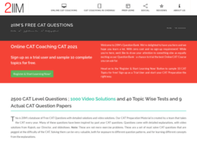 Iim-cat-questions-answers.2iim.com