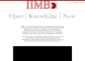 iimbx.edu.in