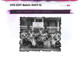 iitrdptbatch2007-2012.weebly.com