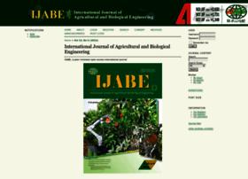 ijabe.org