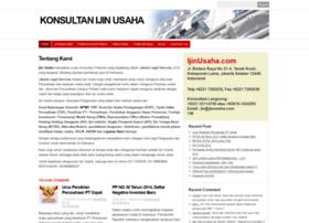 ijinusaha.com