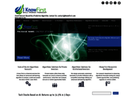 iknowfirst.com