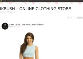 ikrushonlineclothingstore.blog.com