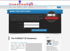 ilive4change.com