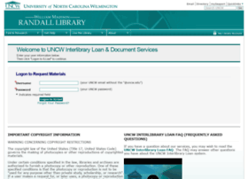 illiad.uncw.edu