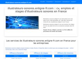 illustrateurs-sonores.enligne-fr.com