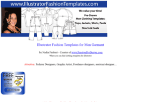 illustratorfashiontemplates.com