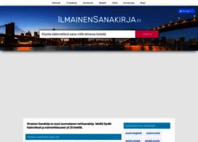 ilmainensanakirja.fi