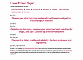 ilovefrozenyogurt.com.au