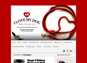 ilovemydogmorethanmykids.com