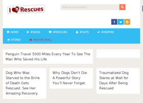 iloverescues.com