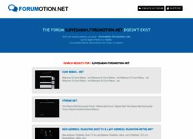 ilovesabah.forumotion.net