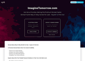 imaginetomorrow.com