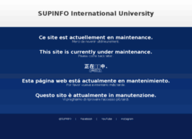 imap.supinfo.com