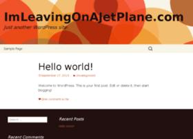 imleavingonajetplane.com
