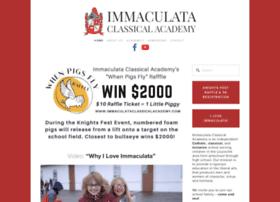 immaculataclassicalacademy.com