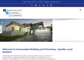 immaculatebuild.co.uk