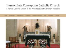 immaculateconceptionhouston.org