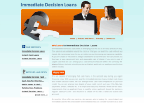 immediatedecisionloans.co.uk