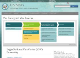 immigrantvisas.state.gov