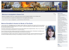 immigrationshumancost.org