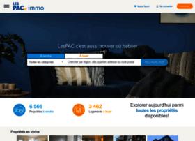 immo.lespac.com