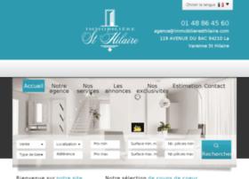 immobilier-lavarenne-sainthilaire.com